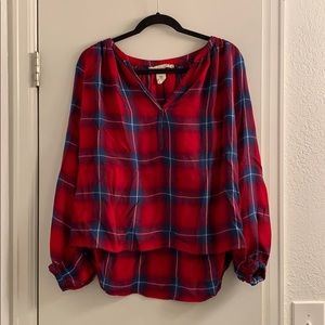 H&M Flannel Oversized Sleeves